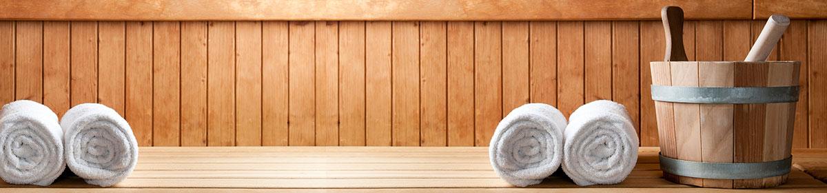 Abbildung Sauna von innen